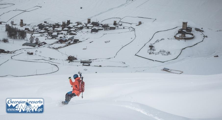 Freeride Week in Svaneti. The Best freeride spots