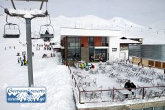 In Gudauri resort begun construction of a new ski lift