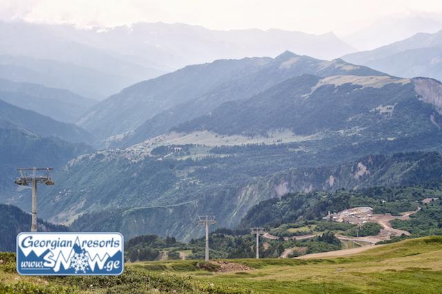 Строительство нового горнолыжного курорта Тетнулди в Сванетии