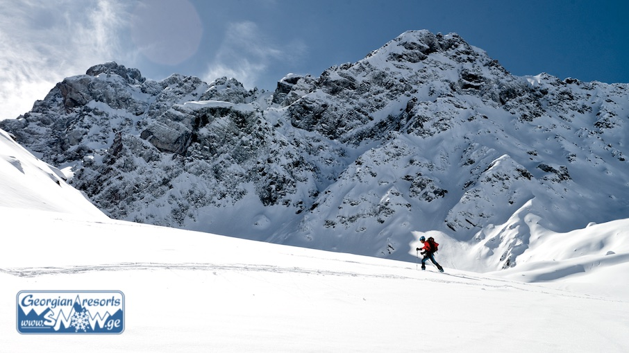 Ski touring and backcountry in Gudauri