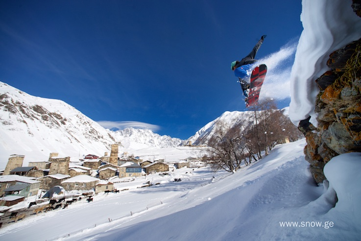 Tons of fun terrain dropping down to the village. Photo - Oleg Gritskevich