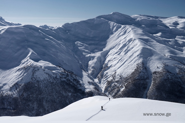 We were the only skiers/riders in this entire range. Photo - Oleg Gritskevich