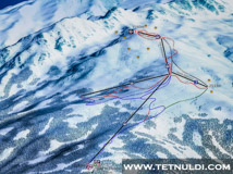 Ski Map Tetnuldi Ski Resort