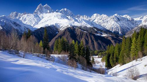 Фотографии горнолыжных курортов